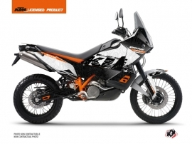 KTM 990 Adventure Street Bike Gear Graphic Kit White