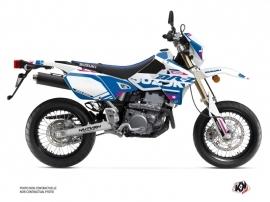 Kit Déco Moto Grade Suzuki DRZ 400 SM Blanc Rose