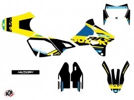 Suzuki DRZ 400 SM Dirt Bike Grade Graphic Kit Blue
