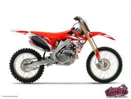Honda 125 CR Dirt Bike Graff Graphic Kit