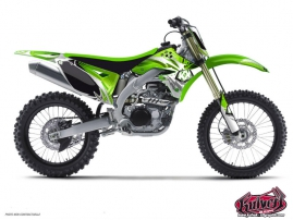 Kawasaki 250 KXF Dirt Bike Graff Graphic Kit
