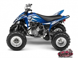 Yamaha 250 Raptor ATV Graff Graphic Kit Blue