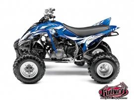 Kit Déco Quad Graff Yamaha 350 Raptor Bleu