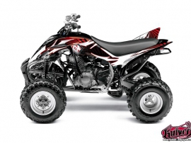 Kit Déco Quad Graff Yamaha 350 Raptor Rouge