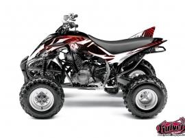 Kit Déco Quad Graff Yamaha 350 Raptor Rouge