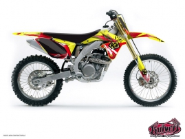 Suzuki 450 RMZ Dirt Bike Graff Graphic Kit