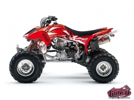 Honda 450 TRX ATV Graff Graphic Kit