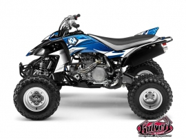 Yamaha 450 YFZ ATV Graff Graphic Kit Blue