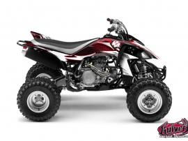 Kit Déco Quad Graff Yamaha 450 YFZ Rouge