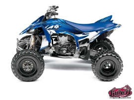 Yamaha 450 YFZ R ATV Graff Graphic Kit Blue