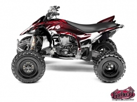 Yamaha 450 YFZ R ATV Graff Graphic Kit Red