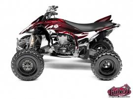 Kit Déco Quad Graff Yamaha 450 YFZ R Rouge