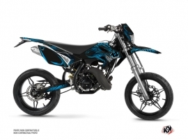 Kit Déco 50cc Graff Beta RR 50 Motard Bleu