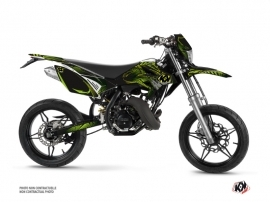 Beta RR 50 50cc Graff Graphic Kit Green