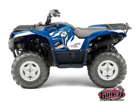 Kit Déco Quad GRAFF Yamaha 550-700 Grizzly Bleu
