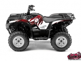 Yamaha 550-700 Grizzly ATV Graff Graphic Kit Red