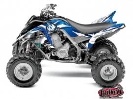 Kit Déco Quad Graff Yamaha 700 Raptor Bleu