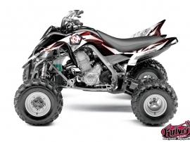 Kit Déco Quad Graff Yamaha 700 Raptor Rouge