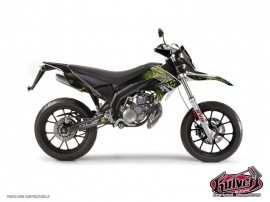 Derbi DRD Xtreme 50cc Graff Graphic Kit Green