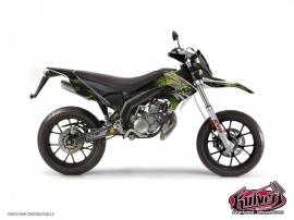 Kit Déco 50cc Graff Derbi DRD Xtreme Vert
