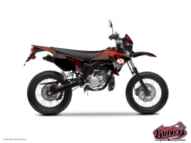 Yamaha DT 50 50cc Graff Graphic Kit Red