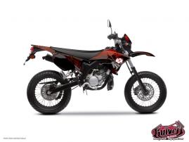 Kit Déco 50cc Graff Yamaha DT 50 Rouge