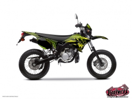 Yamaha DT 50 50cc Graff Graphic Kit Green