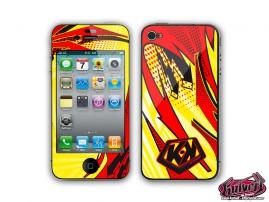 Kit Déco iPhone 3GS Graff Jaune