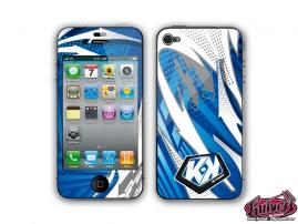 Kit Déco iPhone 4 Graff Bleu