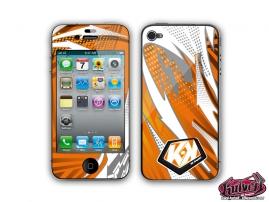 Kit Déco iPhone 4 Graff Orange