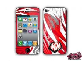 Kit Déco iPhone 4 Graff Rouge