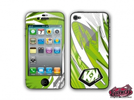 Kit Déco iPhone 4 Graff Vert