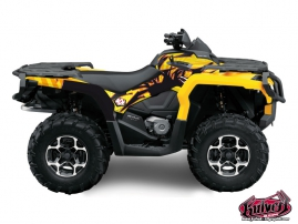 Can Am Outlander 1000 ATV Graff Graphic Kit