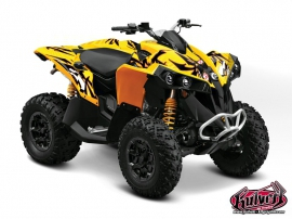 Can Am Renegade ATV Graff Graphic Kit