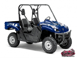 Kit Déco SSV Graff Yamaha Rhino Bleu