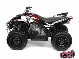 Yamaha 350-450 Wolverine ATV Graff Graphic Kit Red