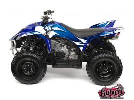Kit Déco Quad Graff Yamaha 350-450 Wolverine Bleu