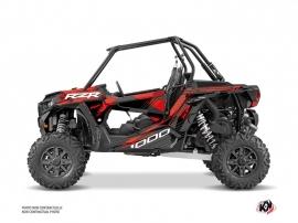 Kit Déco SSV Graphite Polaris RZR 1000 Noir Rouge