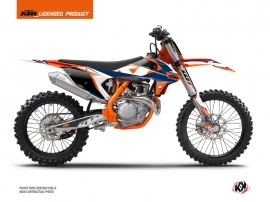 KTM 150 SX Dirt Bike Gravity Graphic Kit Blue
