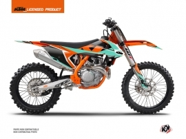 Kit Déco Moto Cross Gravity KTM 250 SXF Vert