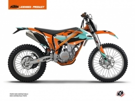 Kit Déco Moto Cross Gravity KTM 350 FREERIDE Vert