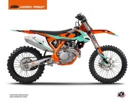 Kit Déco Moto Cross Gravity KTM 350 SXF Vert