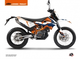 Kit Déco Moto Cross Gravity KTM 690 ENDURO R Bleu