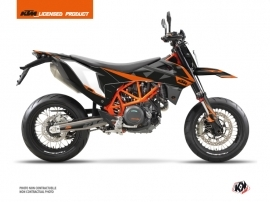 KTM 690 SMC R Dirt Bike Gravity Graphic Kit Orange
