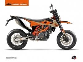 KTM 690 SMC R Dirt Bike Gravity Graphic Kit Orange Sand