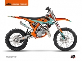 Kit Déco Moto Cross Gravity KTM 85 SX Vert