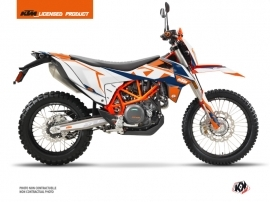 KTM 690 ENDURO R Street Bike Gravity Graphic Kit Blue