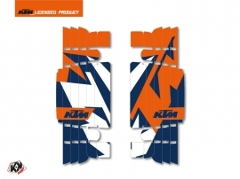 Kit Deco Radiator guards Gravity KTM EXC-EXCF 2017 Blue