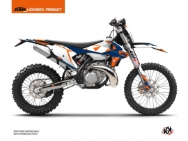 Kit Déco Moto Cross Gravity KTM EXC-EXCF Bleu