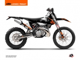 Kit Déco Moto Cross Gravity KTM EXC-EXCF Orange